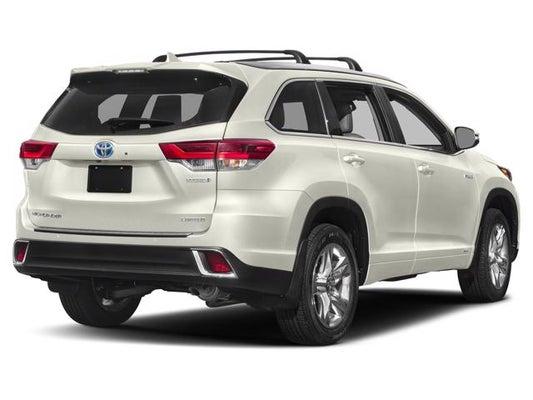 2019 Toyota Highlander Hybrid Limited Platinum Toyota Dealer