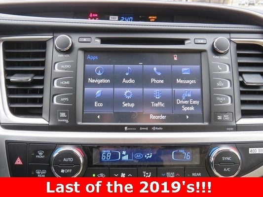 driver easy speak 2018 highlander